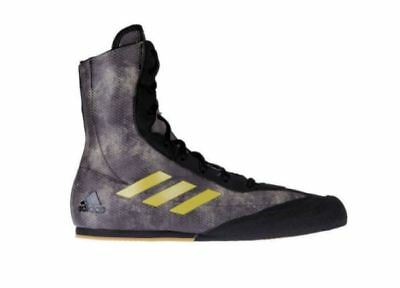 Adidas Box Hog Plus Boxing Boots Adult Mens Camo Sports Training Shoes Foot
