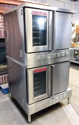 Blodgett Sh1G/aa Bakery Restaurant Full Size Double Stack Gas Convection Oven