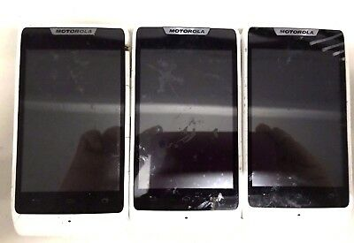 6 Lot Motorola Rarz D1 XT914 GSM Android For Parts Repair Used Wholesale As Is