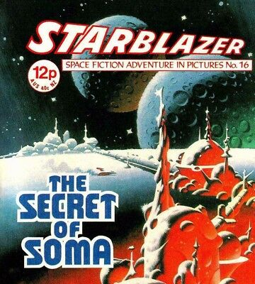 STARBLAZER & STARLORD Comic Collection on DVD - Sci Fi Books Magazines & Comics