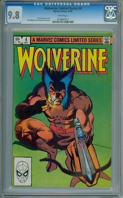 Wolverine Limited Series #4 - CGC Graded 9.8