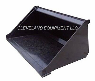 """NEW 48"""" MINI LOW PROFILE BUCKET for Bobcat Skid Steer Track Loader Attachment 4'"""