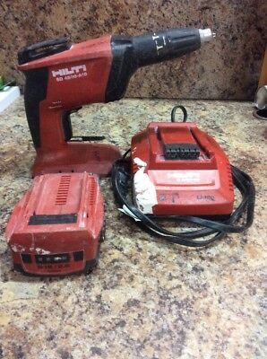 Hilti SD 4500-A18 Cordless Driver. Tool, battery, & Charger