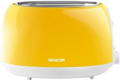 Countertop 2-Slice Bread Toaster Electronic Timer Slide-Out Crumb Tray -Yellow