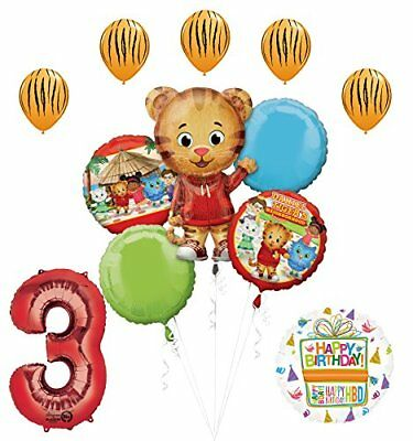 The Ultimate Daniel Tiger Neighborhood 3rd Birthday Party Supplies