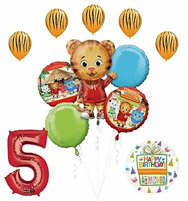 The Ultimate Daniel Tiger Neighborhood 5th Birthday Party Supplies