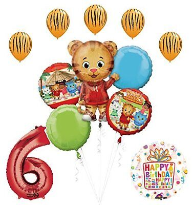 The Ultimate Daniel Tiger Neighborhood 6th Birthday Party Supplies