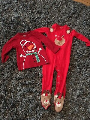 Christmas Bundle Age 9-12 Months Next Flashing Top Cute