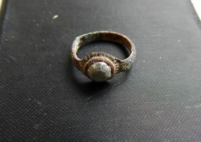 Ancient. antique ring.Metal detector finds.