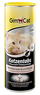 GimCat Katzentabs Fisch and Mascarpone, 3er Pack (3 x 40 g)