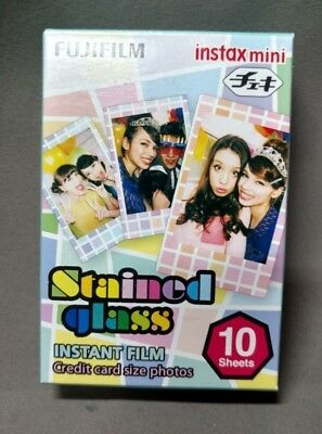 Fujifilm Instax Stained Glass Instant Film (10 Color Prints) (D127)