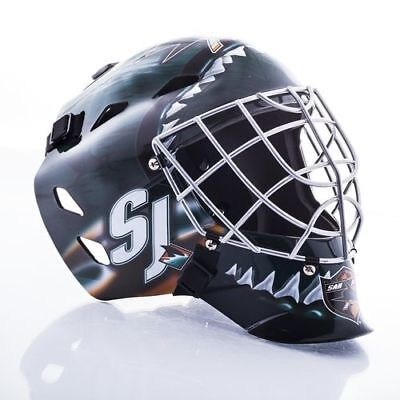 San Jose Sharks Mini Goalie Mask