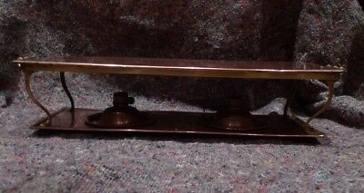 Arts & Crafts copper and brass hot plate
