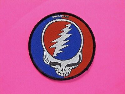 Grateful Dead Official 1991 Vintage Patch Uk Import Not Shirt Cd Button Sew-On