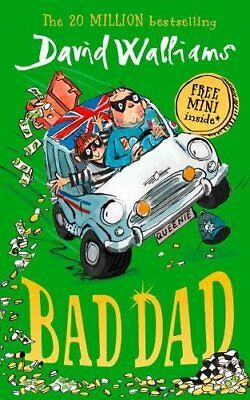 Bad Dad by David Walliams (Hardcover 2017) Children Book Bestseller New