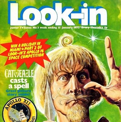 LOOK-IN COMIC COLLECTION on DVD & Reading Software - UK Magazines on DVD