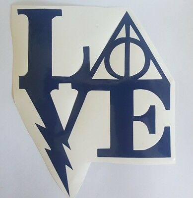 Harry Potter Love Decal