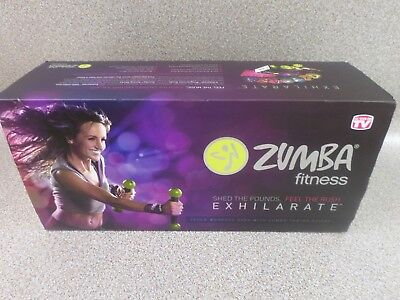 Zumba Fitness Exhilarate Body Workout Shaping System - 7 DVD Set + Toning Sticks