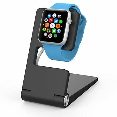 NEW Element Works Folding Aluminium Charging Stand for Apple Watch-Black