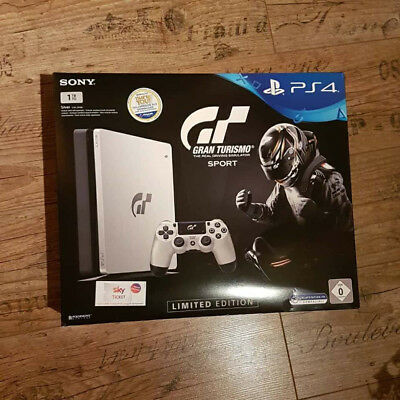 PlayStation 4 1TB GT Sport Limited Edition PS4 Gran Turismo Limited Edition+Game