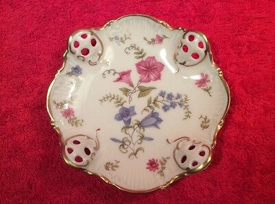 Beautiful Vintage German Porcelain Butter Pat c1933-1945, p221   GIFT QUALITY!!!