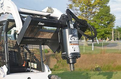 Bobcat Skid Steer Attachment - New Lowe BP210 Round Auger Unit - Ship for $199