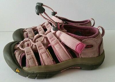Keen Girls Newport Pink Sandals Hiking Sport Shoes Youth Size 12