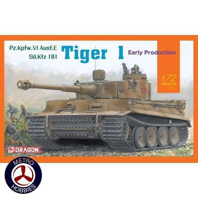 Dragon 1/72 Sd.Kfz.182 Tiger I Early Production DR 7482 Brand New