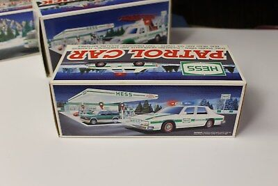 1993 HESS Toy Police Car New In Box / MINT