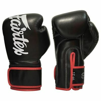 Fairtex BGV14 Muay Thai Gloves - Black/Red