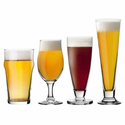Bormioli Rocco - Specialty Beer Set of 4 (Made in Italy)