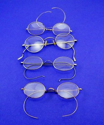 Antique Vintage Eyeglasses Spectacles Lot of (4)