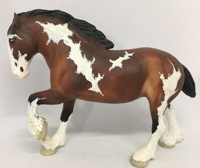 Breyer Horse Little Bits Paddock Pals Brown White Black Clydesdale Repaint?  16