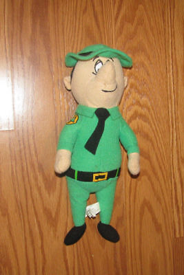 """2010 Toy Factory Hanna-Barbera Collection Forest Ranger Smith 10"""" Plush"""