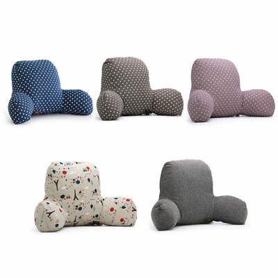 Lovely Soft Plush Cushion Bed Rest Lounger Neck Backrest Support Car Seat Pillow