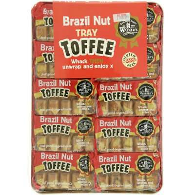 902022 10 x 100g PACKETS OF WALKER'S BRAZIL NUT PREMIUM WRAPPED BRITISH TOFFEE