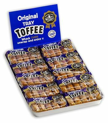902024 10 x 100g PACKETS OF WALKER'S ORIGINAL PREMIUM WRAPPED BRITISH TOFFEE