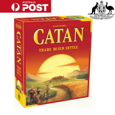 Settlers of Catan Core Set Family Board Game (5th edition)
