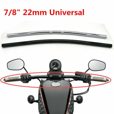 "7/8""22mm Motorcycle Handlebar Drag Straight Bar For Honda Suzuki Chopper Bobber"