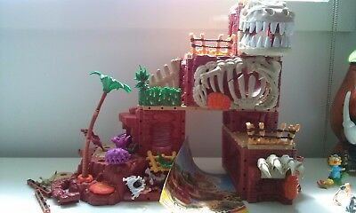 Massive imaginext dinasours playset with sounds and moving parts fisher price