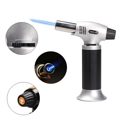 Durable Creme Brulee Blow Torch Butane Gas Refillable Blowtorch Cooking Culinary