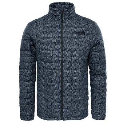 NWT The North Face Men's Thermoball Full Zip Quilted Jacket Asphalt Grey Camo XL