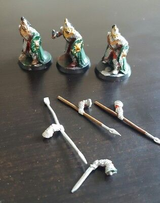 Lord of the rings miniatures rohan royal guard
