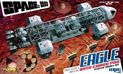 Space: 1999 - Eagle Transporter with Cargo Pod - 1:48 - MPC 838