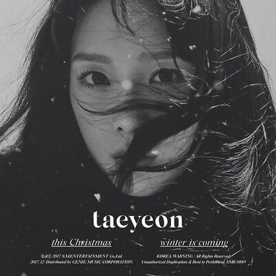 TAEYEON - This Christmas - Winter is Coming CD+Booklet+Poster+Free Gift