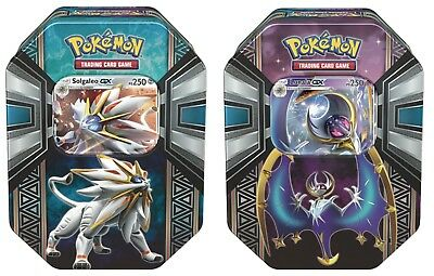 Pokemon Tin 2017  Solgaleo GX  / Lunala GX in italiano