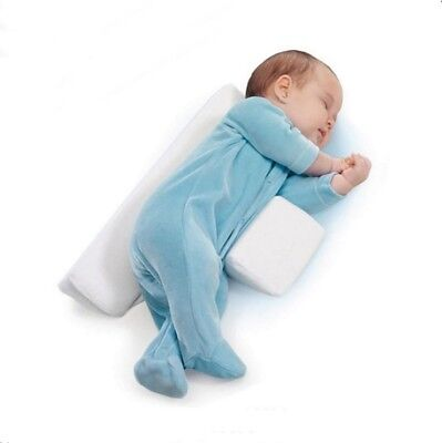 Baby Pillow Sleep Anti Roll Adjustable Elevated Wedge Prevent Flat Head 240g