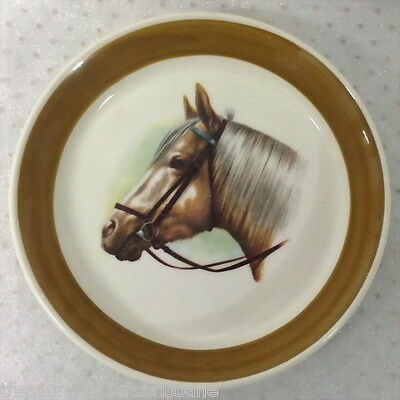 Wade England Pin Dish Round With Horse Head