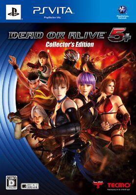 Ps Vita Dead Or Alive 5 Plus Collectors Edition Psv Japan Import Japanese New