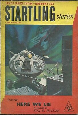 Startling Stories 15 Science Fiction Pulp Magazine Pembertons Isaac Asimov Young